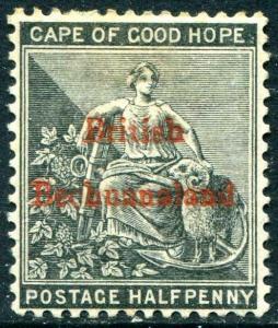 HERRICKSTAMP BECHUANALAND Sc.# 4 Mint Hinged Scott Retail $35.00