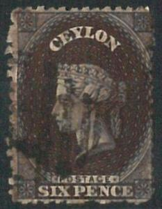 70352 - CEYLON - STAMPS: Stanley Gibbons #  67bx   Finely USED