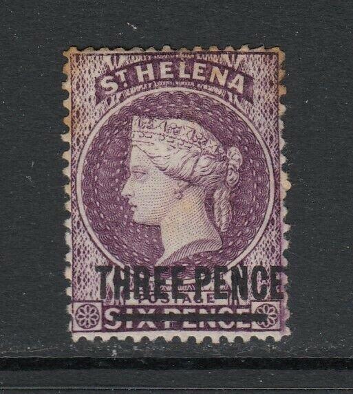 St. Helena, Scott 27 (SG 23), MLH (few toned perfs)