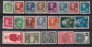 NORWAY ^^^^x  20  used  CLASSICS + others  $$@ dc405nor
