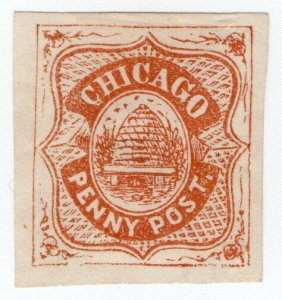 (I.B) US Local Post : Chicago Penny Post
