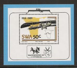 South West Africa 617a 1989 Airplanes s.s. MNH