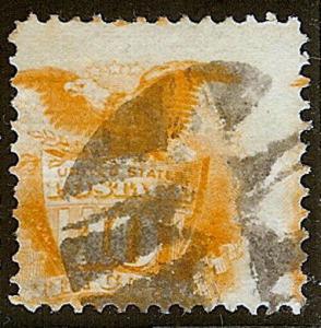 116 - 10c Huge 2-Way Misperf Error / EFO  Issues of 1869-1880