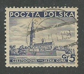Group of 7 Used Stamps From Poland