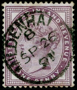 SG172, 1d lilac, FINE USED, CDS.