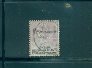 Bechuanaland - Sc# 61. 1888 2d Victoria. Used. $20.00.