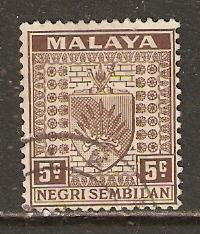 Malaya-Negri Sembilan   #24  used  (1935)