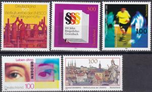 Germany #1941-5 MNH CV $8.60 (A19863)
