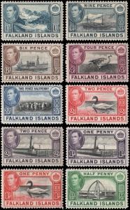 Falkland Islands 84//96 mlh