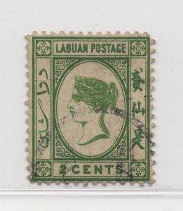 Malaya Labuan - 1880-82 - SG5 - 2c - used #661