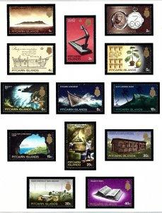 Pitcairn Is 97-108 MNH 1969 Definitive Set         (KA)