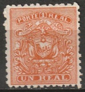 Ecuador 1872 Sc 10 MNG(*)