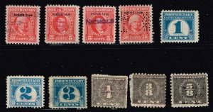 US STAMP BOB REVENUE  STAMPS COLLECTION LOT #M4