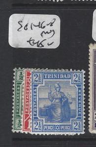 TRINIDAD  (P2005B)   SG 146-148   MOG
