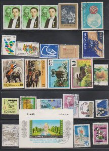 LOT OF DIFFERENT STAMPS OF THE WORLD USED (25) LOT#117