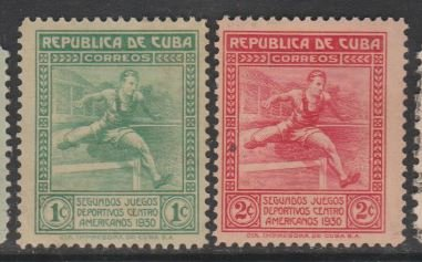 U.S. Scott #299-393 Cuba Possession Stamp - Used Set of 10 Stamps