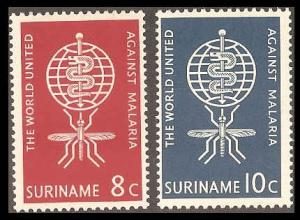 Surinam 304-305 Mint VF LH