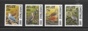 BIRDS - BELIZE #1059-62  MNH