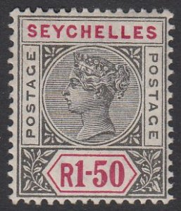 Seychelles 20 MVLH CV $90.00