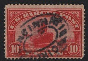 United States USED Scott Number Q6 VF  DL#1  - BARNEYS