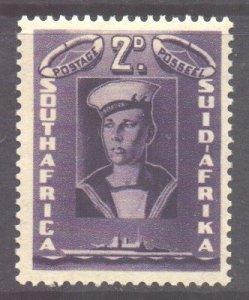 South Africa Scott 84 - SG95, 1941 War Effort 2d MH*