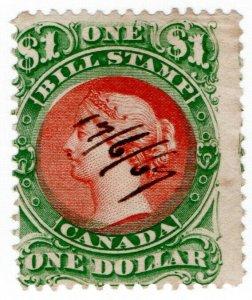 (I.B) Canada Revenue : Bill Stamp $1