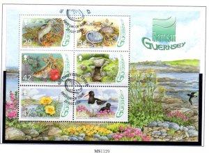 Guernsey Sc 917a 2006 L'Eree Wetland stamp sheet mint NH