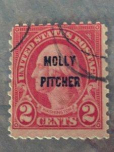 "#646, ""Molly Pitcher"" 2c Washington"