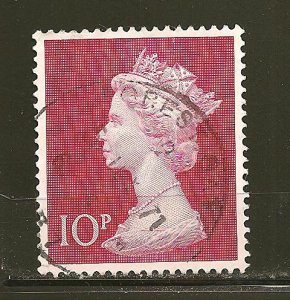 Great Britain 635 Queen Elizabeth II 10P Used