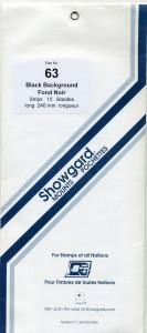 SHOWGARD DARK BACKGROUND MOUNTS 63 / 240 PACKAGE 10 STRIPS