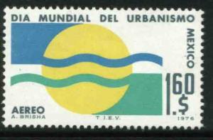 MEXICO C526 World Urbanism Day MINT, NH. F-VF.