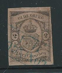 Germany Oldenburg 7 2g Arms single Used