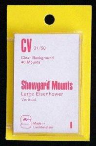 Showgard Pre-Cut Clear Stamp Mounts Size CV31/50