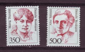 J68 jls stamps 1986-91 mnh hv,s set famous woman