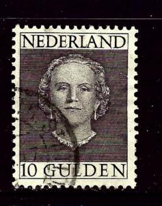 Netherlands 322 Used 1949 issue    #2