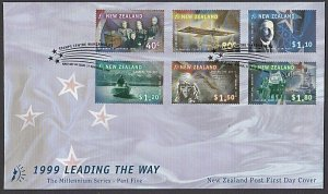 NEW ZEALAND 1999 Leading The Way - FDC......................................L519