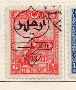 Turkey 1928 Early Issue Fine Used 6G. Optd 272024