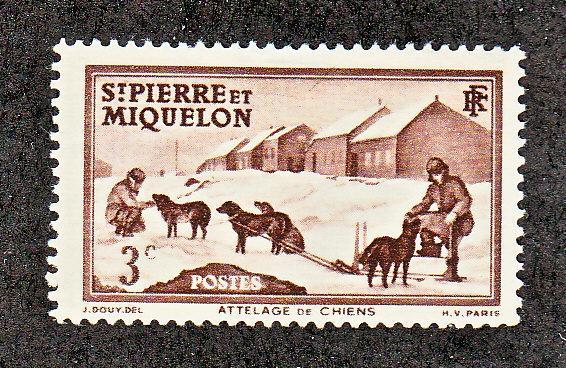 St Pierre & Miquelon Scott #173 MH