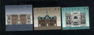 Canada #1375-76,1378   -1  used VF  PD