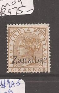 Zanzibar SG 13a MOG (1asy)