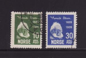 Norway 132, 135 U Henrik Ibsen, Playwright and Poet (A)
