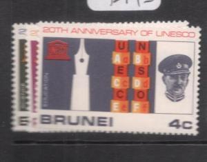 Brunei SG 144-6 MNH (10den)