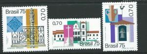 BRAZIL SG1559/61 1975 HISTORIC TOWNS MNH