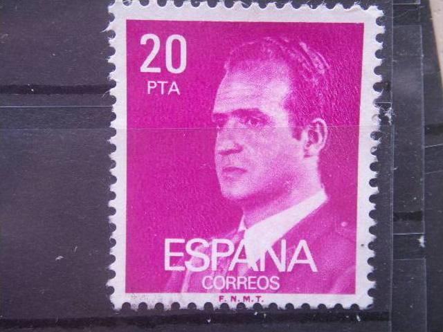 SPAIN, 1977, 20p, Scott 1986, King Juan Carlos, possible mint