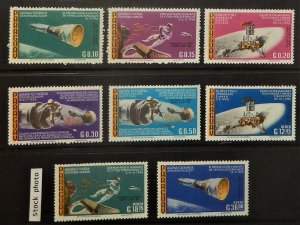 Paraguay 978-85. 1966 Space Missions, NH