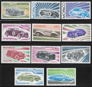 Monaco #980-90 M/NH 45% of SCV $22.55 **FREE SHIPPING**