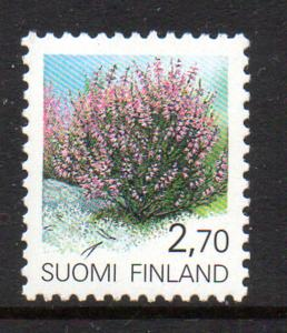Finland Sc 831 1990 2.7 Heather stamp mint NH