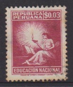 Peru Sc#RA35 Used