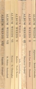 Album Weeds, by Rev. R.B. Earée. Complete set of 8 volumes. world forgeries