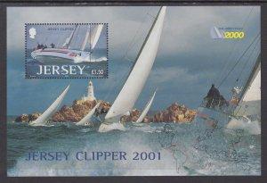 Jersey 1004 Souvenir Sheet MNH VF